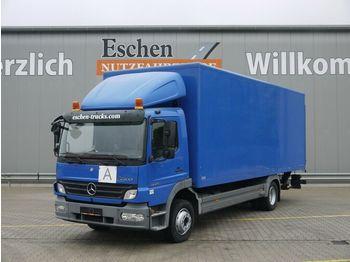 Box truck Mercedes-Benz 1224 L Atego 2, Koffer / Euro 5 / LBW / Schalter