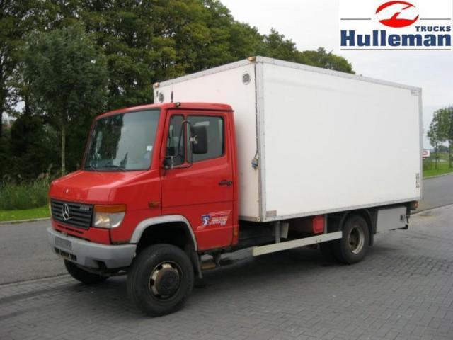 Mercedes benz 814 4x4 steel suspension manuel box truck for Mercedes benz vario 4x4 for sale
