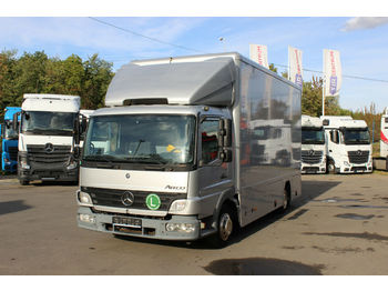 Box truck Mercedes-Benz 818 L VEHICLE FOR EXHIBITION