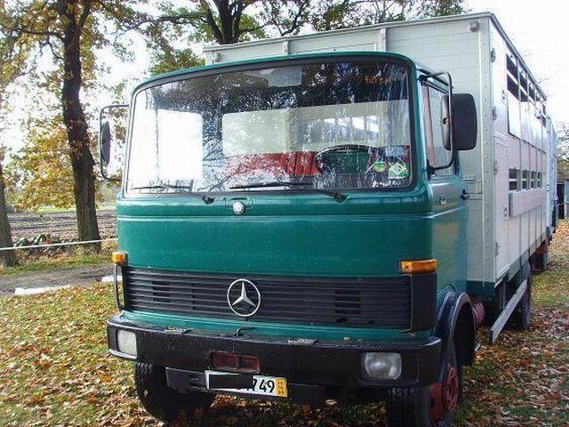 Mercedes benz 913 viehtransporter box truck from germany for Mercedes benz box truck for sale