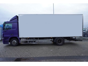 Box truck Mercedes-Benz ACTROS 1836 CLOSED BOX