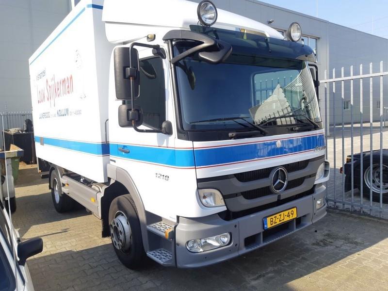 box truck Mercedes-Benz ATEGO 1218 L