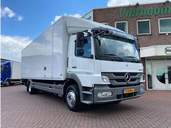 Mercedes-Benz ATEGO 1222L 4X2 KOFFER MIT LADEBORDWAND EURO5 HOLLAND TRUCK - box truck