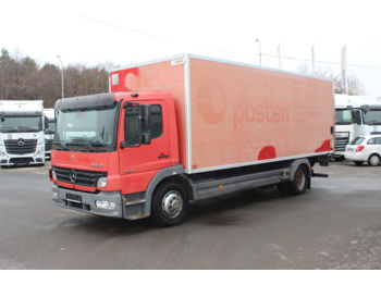 Box truck Mercedes-Benz ATEGO 1524 L , HYDRAULIC LIFT , PARKING CAMERA: picture 1
