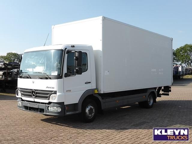Mercedes benz atego 815 manual airco box truck from for Mercedes benz box truck