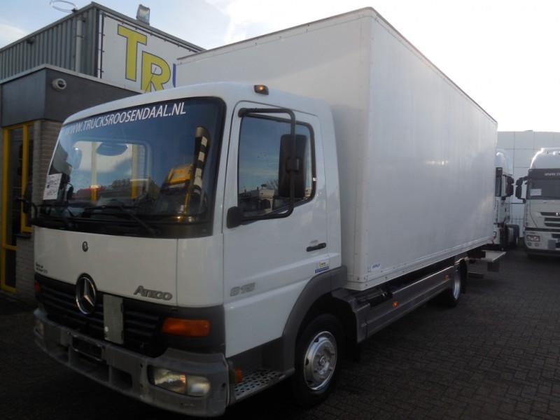 mercedes benz atego 815 manual euro2 box truck from netherlands rh truck1 eu Artisan Atego Atego Euro
