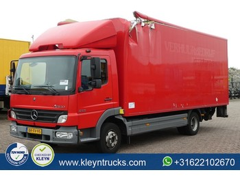 Box truck Mercedes-Benz ATEGO 815 manual box damage