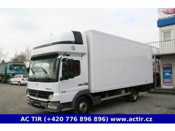 Box Truck Mercedes Benz Atego 818 Koffer Picture 1