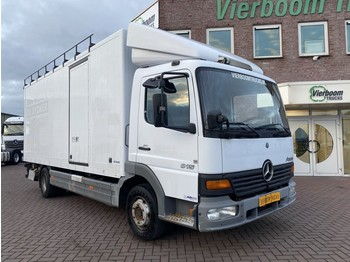 Mercedes-Benz ATEGO BOX WITH LIFT AIRCONDITIONING STEEL SUSPENSION - box truck