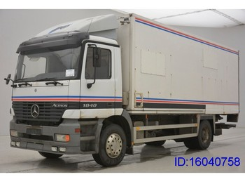 Box truck Mercedes-Benz Actros 1840L