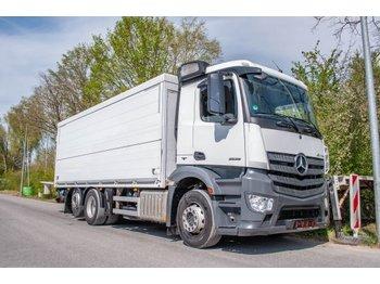 Box truck Mercedes-Benz Antos 2536L ENA 6x2 Getränkeklappe 2to Dautel