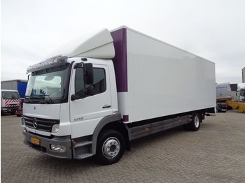 Box truck Mercedes-Benz Atego 1218 + Euro 5 + Lift