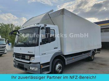 Box truck Mercedes-Benz Atego 1218 L  Koffer LBW AHK  dt. Fzg TÜV 01/21