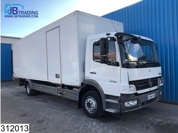 Mercedes-Benz Atego 1218 Manual, Steel suspension, euro 4 - box truck