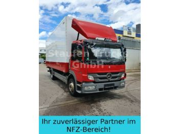 Box truck Mercedes-Benz Atego 1224 Koffer Klima Standheiz.  LBW