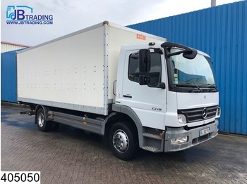 Box truck Mercedes-Benz Atego 1318 Manual, Steel suspension, Airco, euro 4