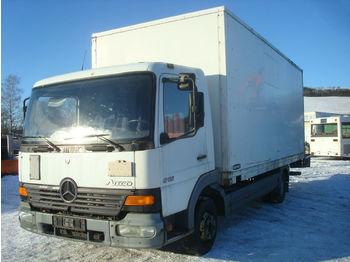 Box truck Mercedes-Benz Atego 815 Ladebordwand koffer
