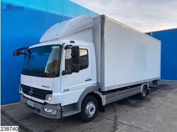 Mercedes-Benz Atego 816 Manual, Steel suspension - box truck
