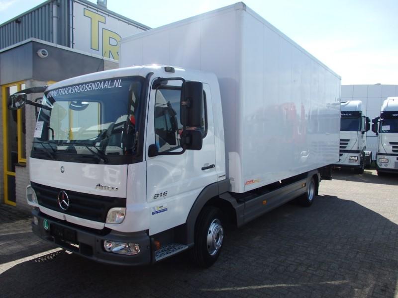 mercedes benz atego 816 manual euro 5 box truck from netherlands rh truck1 eu artego manual official Atego Euro