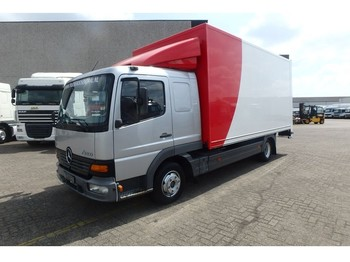 Box truck Mercedes-Benz Atego 817 + manual + lift