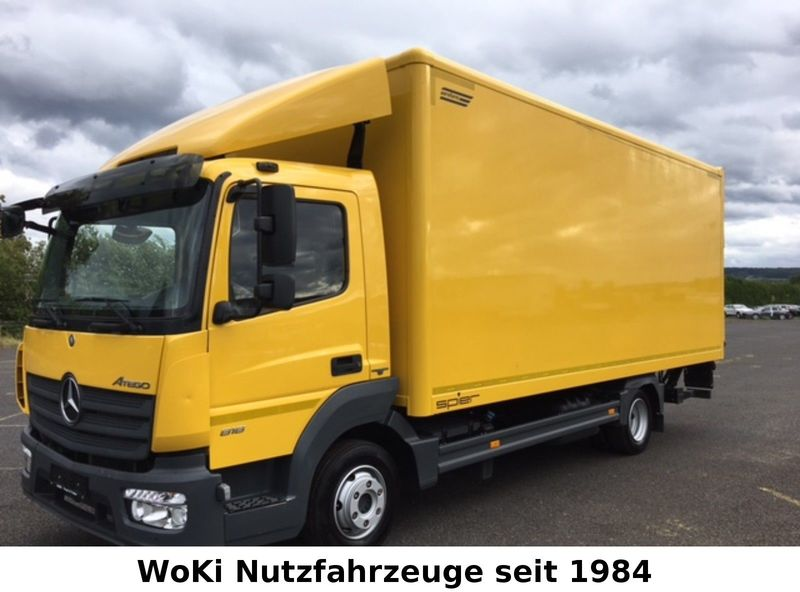 Box Truck Mercedes Benz Atego 818 Classic E Euro 6 Koffer Lbw Picture 1