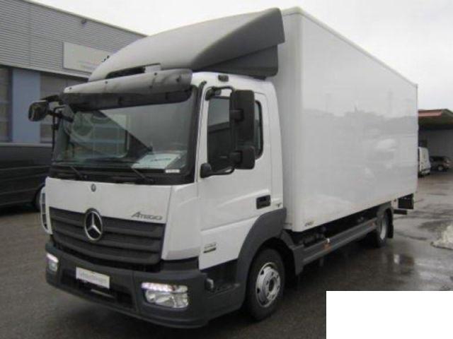 Box Truck Mercedes Benz Atego 818 L Picture 1