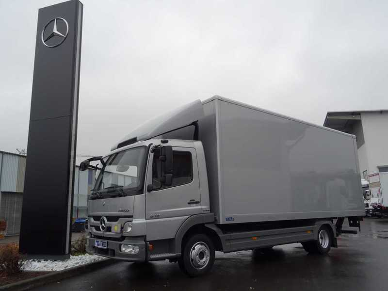 Box Truck Mercedes Benz Atego 818 L Koffer Lbw Klima Picture 1