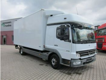 Mercedes-Benz Atego 818 L Schlafkabine Manual Euro 5 LBW Top!  - box truck