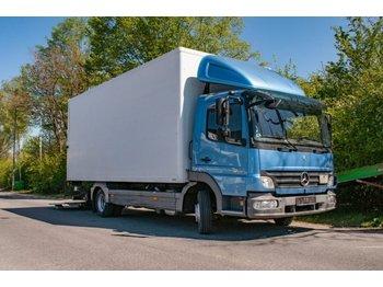 Box truck Mercedes-Benz Atego klima 818 LKW Koffer m.Ladebordwand