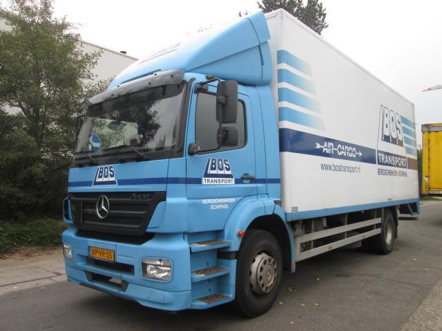 Mercedes benz axor 1823 l box truck from belgium for sale for Mercedes benz box truck for sale