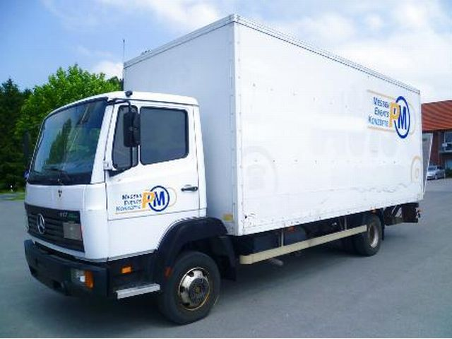 Mercedes benz lk 817 box truck from germany for sale at for Mercedes benz box truck