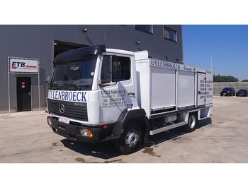 Mercedes-Benz SK 814 (FULL STEEL SUSPENSION / BELGIAN TRUCK IN PERFECT CONDITION) - box truck