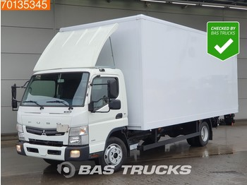 Box truck Mitsubishi Canter Fuso 7C18 4X2 German-Truck Ladebordwand Euro 6
