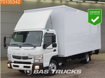 Box truck Mitsubishi Canter Fuso 7C18 4X2 Manual Ladebordwand Euro 6