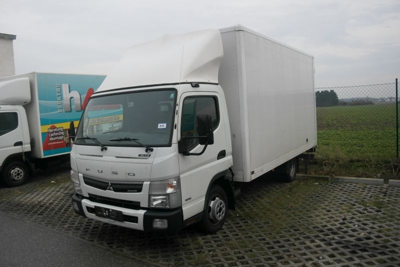 Mitsubishi Fuso Mitsubishi Fuso Canter Canter Box Truck From