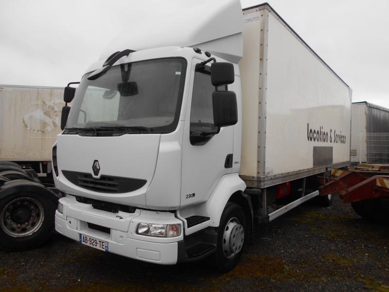 box truck Renault Midlum 220 DXI