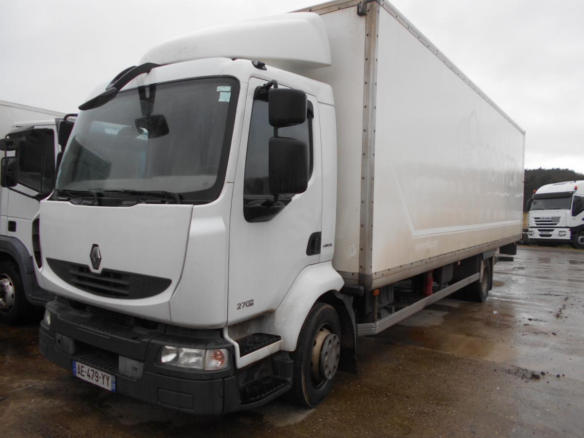 box truck Renault Midlum 270 DXI