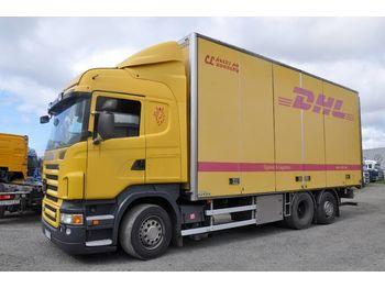Box truck SCANIA R480 6x2