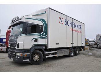 Box truck SCANIA R500