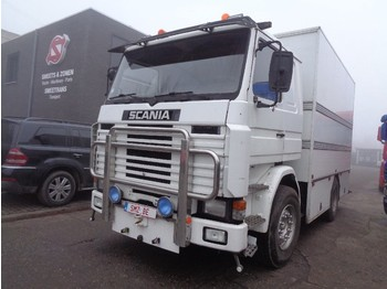 Scania 142 M 420 V 8 intercooler TOP - box truck