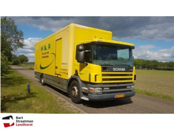 Box truck Scania P 94 D met laadklep manual 386.000 km!! euro 2