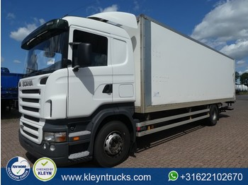 Box truck Scania R270 manual cr19 sleep