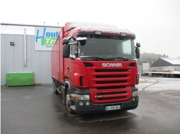 Scania R 420 - 6X2 - manual gearbox - box truck