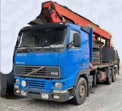 box truck VOLVO FH12 - 6x4
