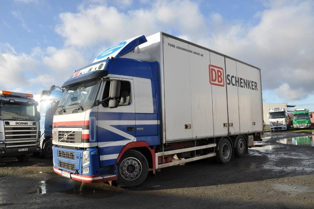 box truck VOLVO FH500