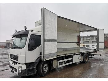 Box truck Volvo FE280 full side opening BUSSBYGG