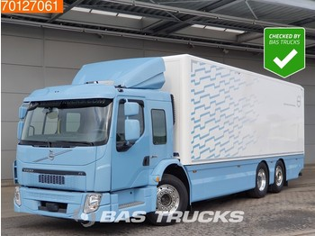 Box truck Volvo FE 250 CNG 6X2 Gas Low-Entry Cabin Steering-Axle Euro 6