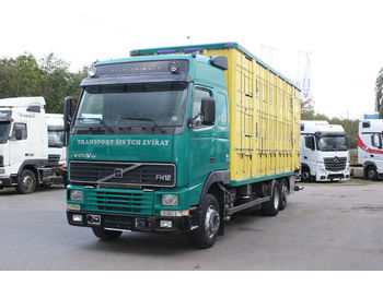 Volvo FH 12 6x2R, FOR TRANSPORT ANIMALS  - box truck