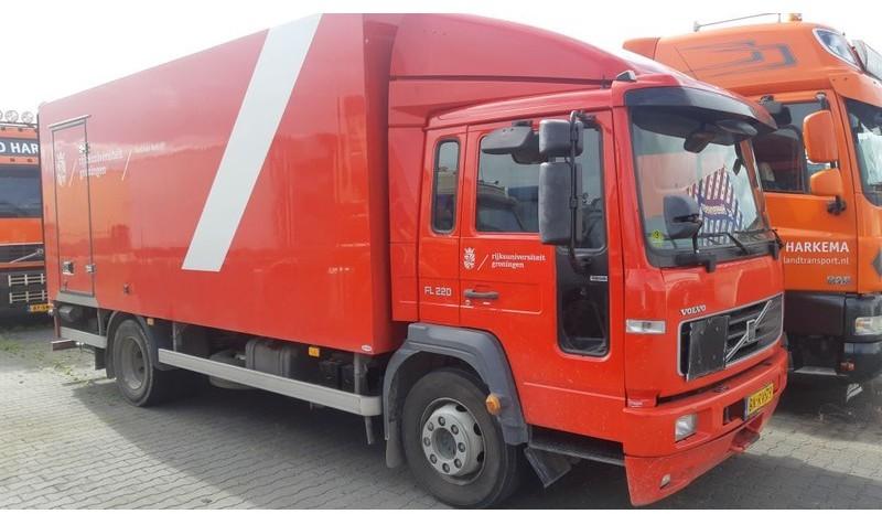 box truck Volvo FL6 220 Closed box Full steel