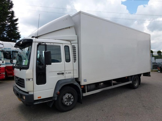 volvo fl 612 220 box truck from netherlands for sale at truck1, id